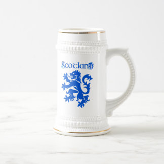 Scotland Lion Rampant Emblem Beer Steins