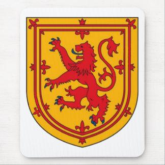 Scotland Lion Rampant Shield Mouse Mat