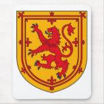 Scotland Lion Rampant Shield Mouse Pad