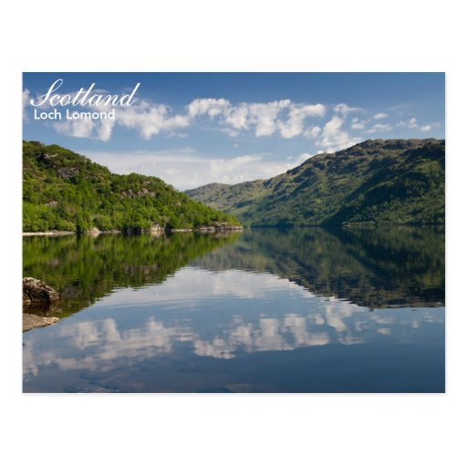 Scotland - Loch Lomond postcard