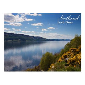Scotland - Loch Ness postcard