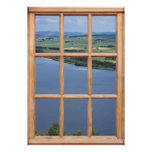 Scotland Loch View from a Window Print