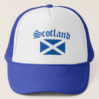 Scotland National Flag Trucker Hat