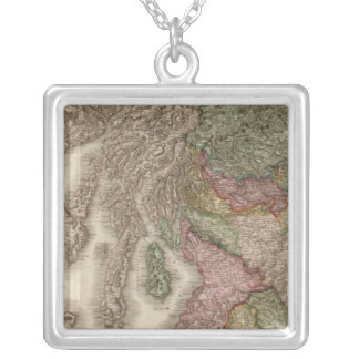 Scotland, northern part silver plated necklace