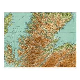 Scotland northern section postcard