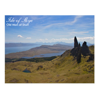 Scotland - Old Man of Storr postcard