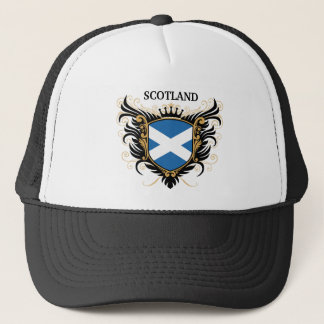 Scotland [personalize] trucker hat