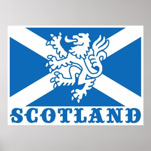 Scotland Print