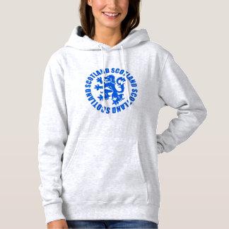 Scotland Rampant Lion Emblem Hoodie