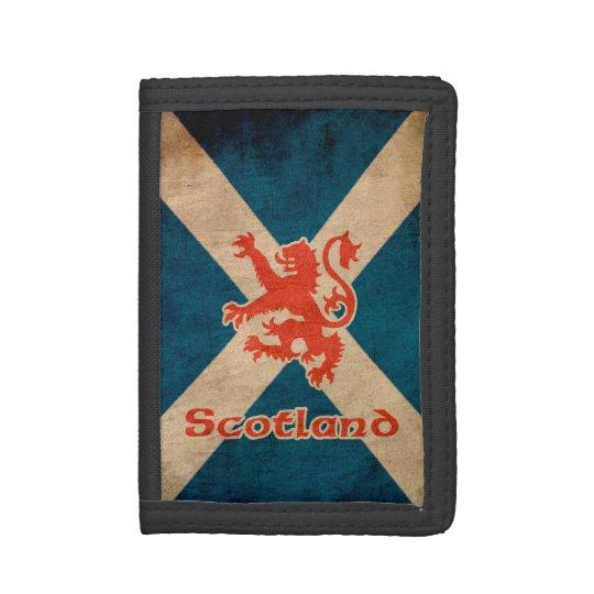 Scotland Rampant Lion Tri-fold Wallets