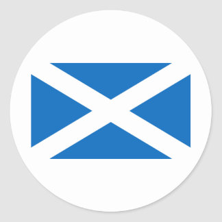 Scotland Round Sticker