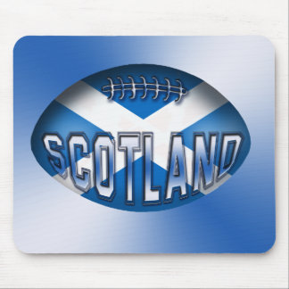 Scotland Rugby Ball Mouse Pad