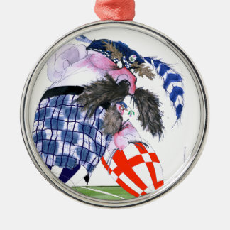 scotland rugby ball, tony fernandes christmas ornament