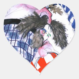 scotland rugby ball, tony fernandes heart sticker