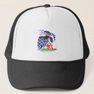 scotland rugby ball, tony fernandes trucker hat
