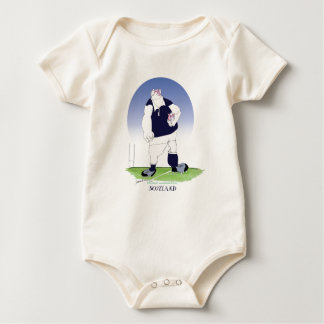 scotland rugby player, tony fernandes baby bodysuit