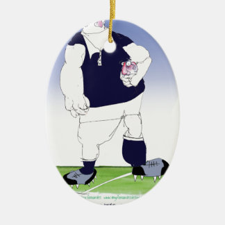 scotland rugby player, tony fernandes christmas ornament