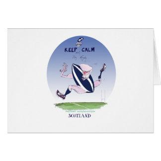 scotland rugby, tony fernandes card
