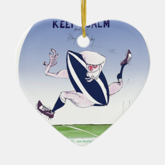 scotland rugby, tony fernandes christmas ornament