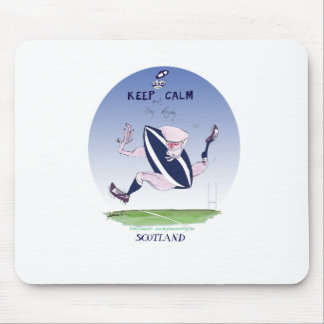 scotland rugby, tony fernandes mouse mat