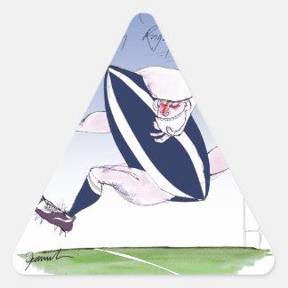 scotland rugby, tony fernandes triangle sticker