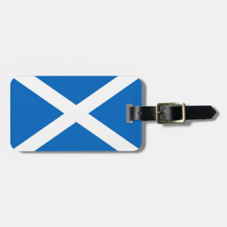 Scotland Saltire Luggage Tag