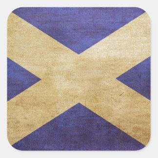 Scotland, Scotland, Scotland Square Sticker