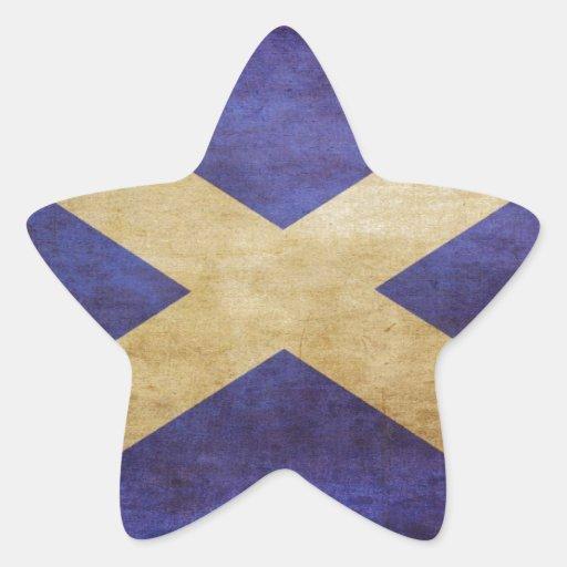 Scotland, Scotland, Scotland Star Stickers