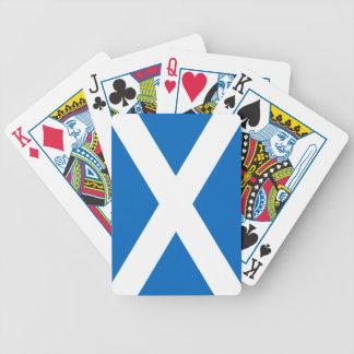 Scotland/Scottish Flag Bicycle Playing Cards