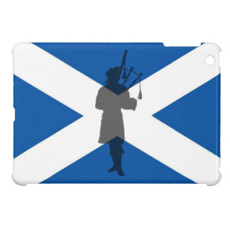 Scotland, scottish, flag piper bag pipes iPad mini case