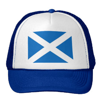 Scotland/Scottish Flag Trucker Hat