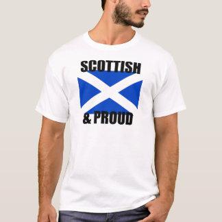 scotland scottish & proud flag design t-shirt