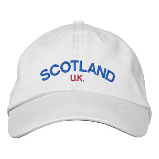Scotland Simple Clean Hat Embroidered Hat