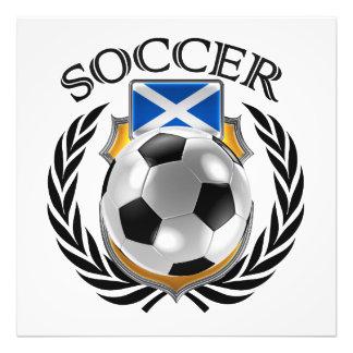 Scotland Soccer 2016 Fan Gear Art Photo