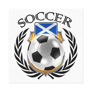 Scotland Soccer 2016 Fan Gear Canvas Print