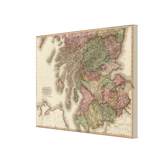 Scotland, southern part canvas print