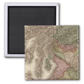 Scotland, southern part square magnet
