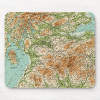 Scotland southern section mouse mat