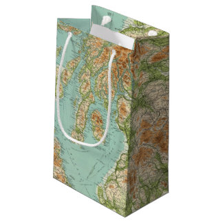 Scotland southern section small gift bag