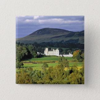 Scotland, Tayside, Blair Castle. In an emerald 15 Cm Square Badge