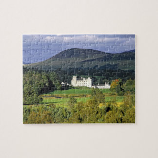 Scotland, Tayside, Blair Castle. In an emerald Puzzles