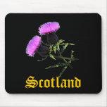 Scotland, thislte mouse pad