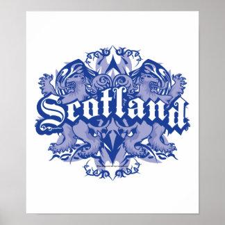 Scotland Tribal Print