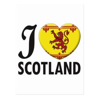 Scotland v2 Love Postcard
