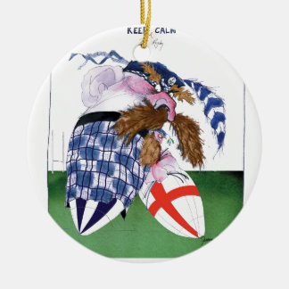scotland v england balls, tony fernandes christmas ornament