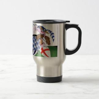scotland v england balls, tony fernandes travel mug