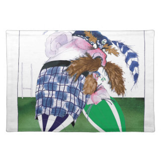 scotland v ireland rugby balls tony fernandes placemat
