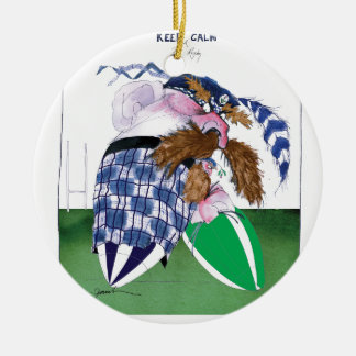 scotland v ireland rugby balls tony fernandes round ceramic decoration