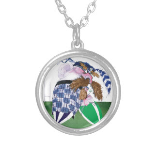 scotland v ireland rugby balls tony fernandes silver plated necklace