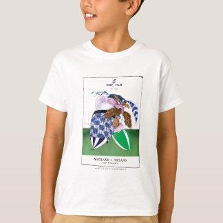 scotland v ireland rugby balls tony fernandes T-Shirt